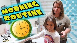 Rutina de mañana en familia ☕️ Family Fun Vlogs