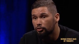 TONY BELLEW SUGGESTS SCALES WERE INACCURATE FOR DAVID HAYE WEIGH IN