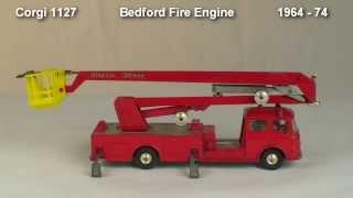 Bedford Fire Engine  Corgi 1127 1964 - 74