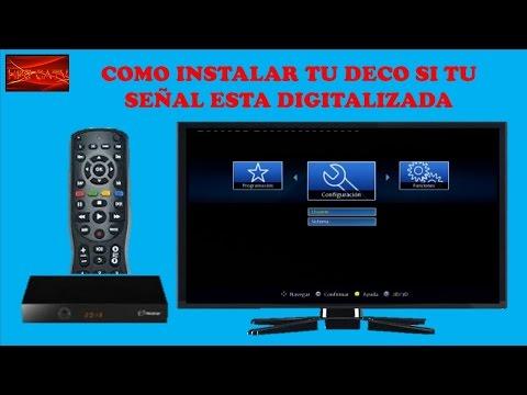 COMO INSTALAR TU DECODIFICADOR SI TU SEÑAL ESTA DIGITALIZADA-CURSO DE TELEVISION POR CABLE