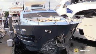 2019 CCN 102 Flying Sport Yacht - Walkaround - 2018 Fort Lauderdale Boat Show