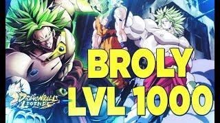 DEMO BROLY LEVEL 1000 ! DESTRUCTEUR DE GOKU EN PVP   DRAGON BALL LEGENDS FR