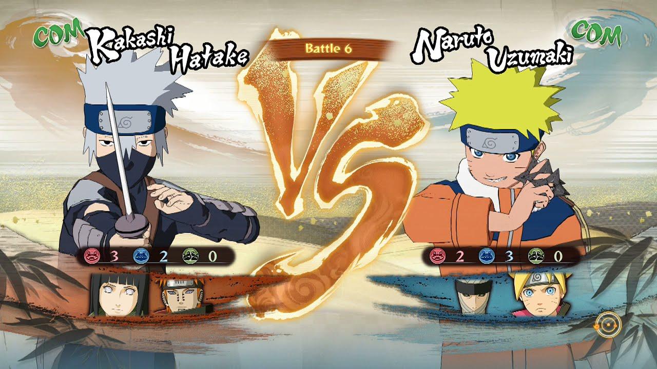 Naruto Shippuden: Ultimate Ninja Storm 4, Kakashi/Hinata ...