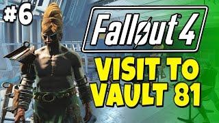 Fallout 4 - Visit to Vault 81 6 Alien Companion