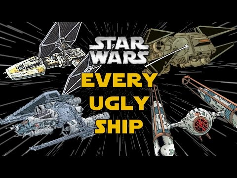 Thumbnail: Every Ugly Starfighter from Star Wars Canon and Legends
