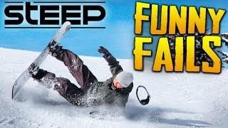 STEEP | FAILS, FUNNY MOMENTS & EPIC TRICKS Compilation | 2k 60fps