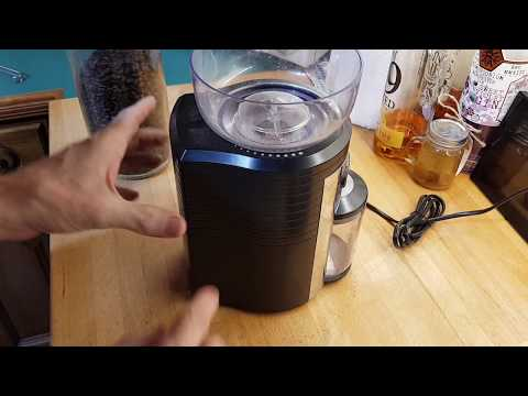 Dualit Conical Burr Coffee Grinder Review Youtube