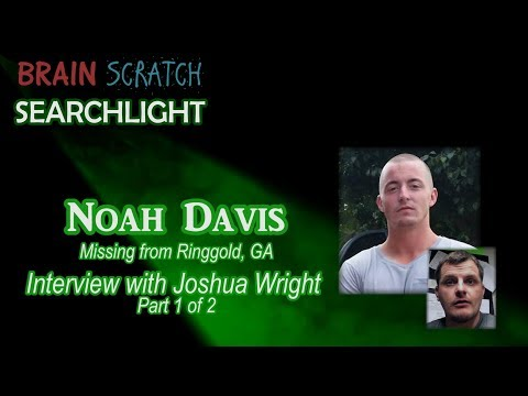 Noah Davis - Joshua Wright Interview Part 1 of 2 on BrainScratch Searchlight
