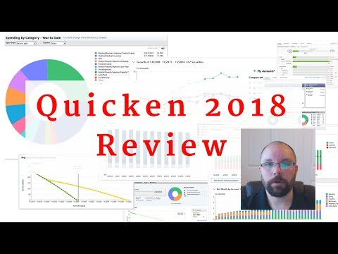 Quicken 2018 Review - Deluxe, Premier, Home, Business & Rental Property
