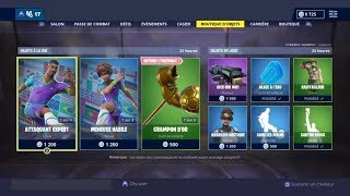 BOUTIQUE FORTNITE DU 9 AVRIL 2019 - FORTNITE ITEM SHOP APRIL 9 2019 NEW SKIN !!