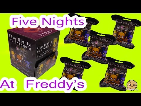 Five Nights At Freddys Game Mystery Surprise Blind Bags Toy Unboxing Cookieswirlc Video