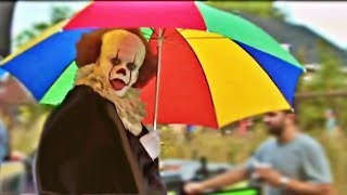 IT - Rare Behind The Scenes - Pennywise Funny Bloopers - HD