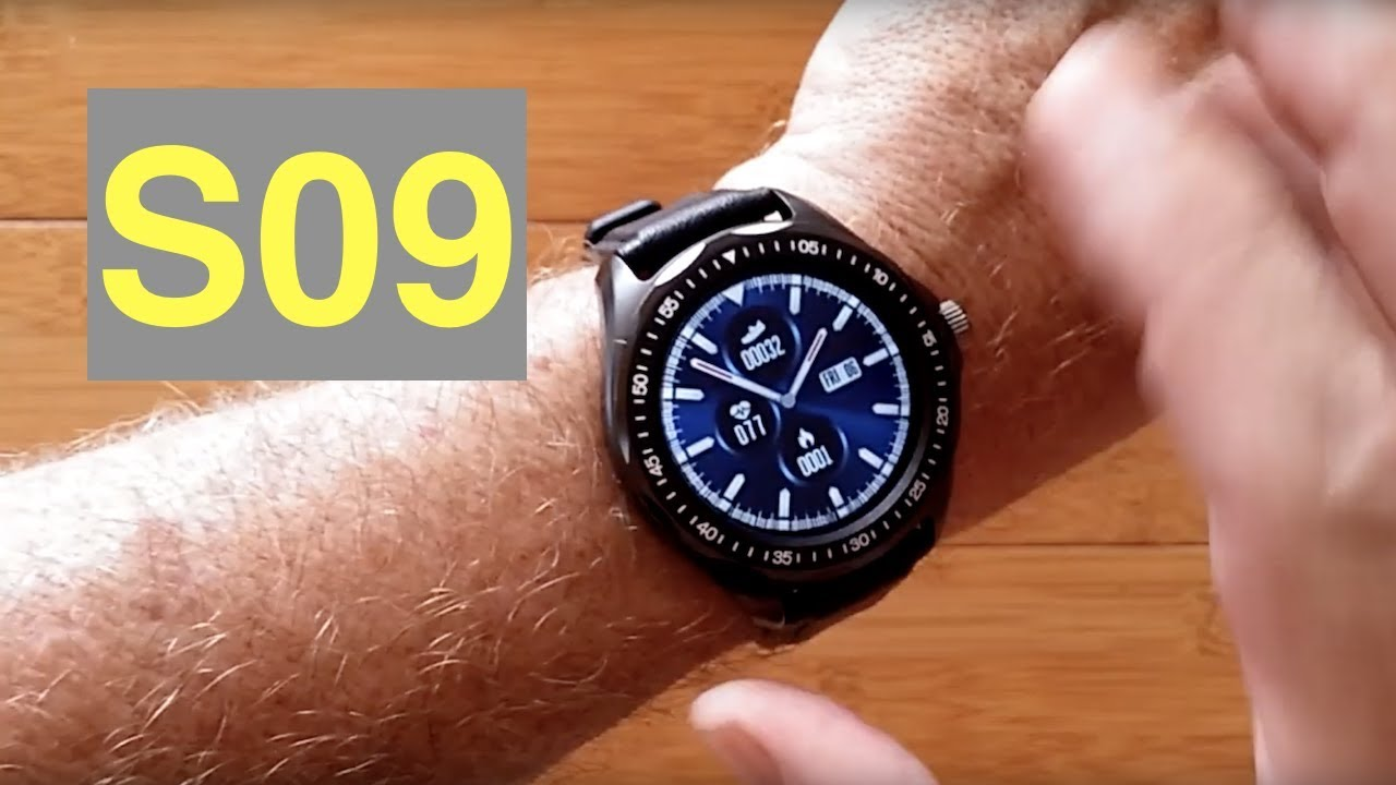 Download SENBONO S09 IP68 Waterproof Multi-Function Blood Pressure Sports Smartwatch: Unboxing and 1st Look