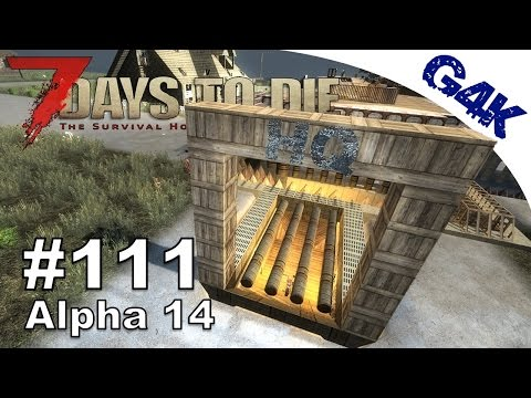 7 Days To Die | Secure Bike Entrance | 7 Days to Die Gameplay Alpha 14 | S06E74