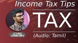 (தமிழ்) Income tax promo