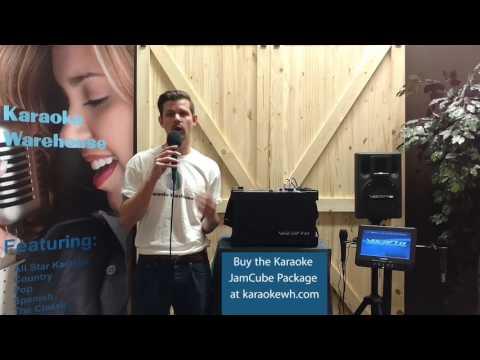 Karaoke Warehouse VocoPro JamCube Package
