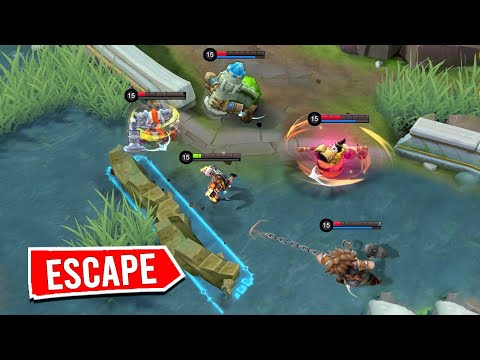 *ESCAPE* CATCH ME IF YOU CAN !!!!- Mobile Legends Funny Fails And WTF Moments!#15