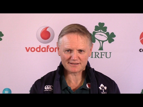Ireland Press Conference With Joe Schmidt Ahead Of The Forthcoming RBS 6 Nations Tournament