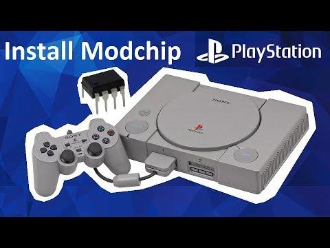 [PSX] Установка чипа на Sony Playstation 1 чиповка прошивка запускаем игру с болванки PS1 Modchip