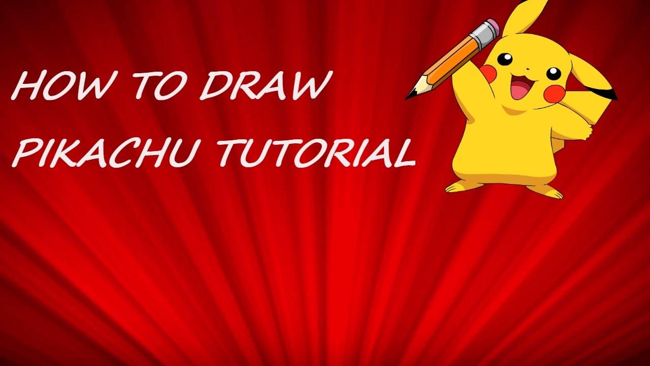How To Draw Pikachu Instructions
