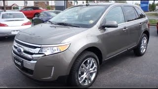 2013 Ford Edge Limited Walkaround, Start up, Tour and Overview