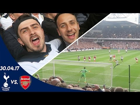 SPURS V ARSENAL 2-0 (30.04.17) | A FAN EXPERIENCE - Last NLD at White Hart Lane