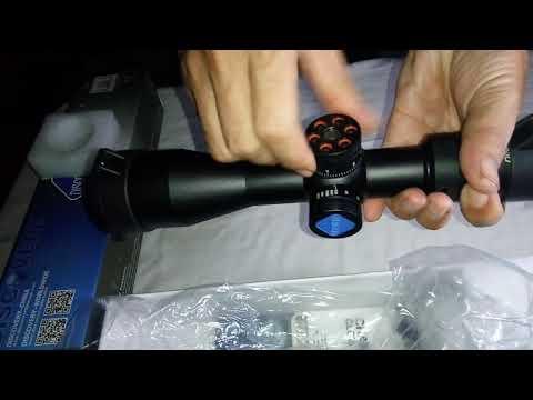 Jual telescope weaver kaspa tactical reticle rifle scopa mm tube