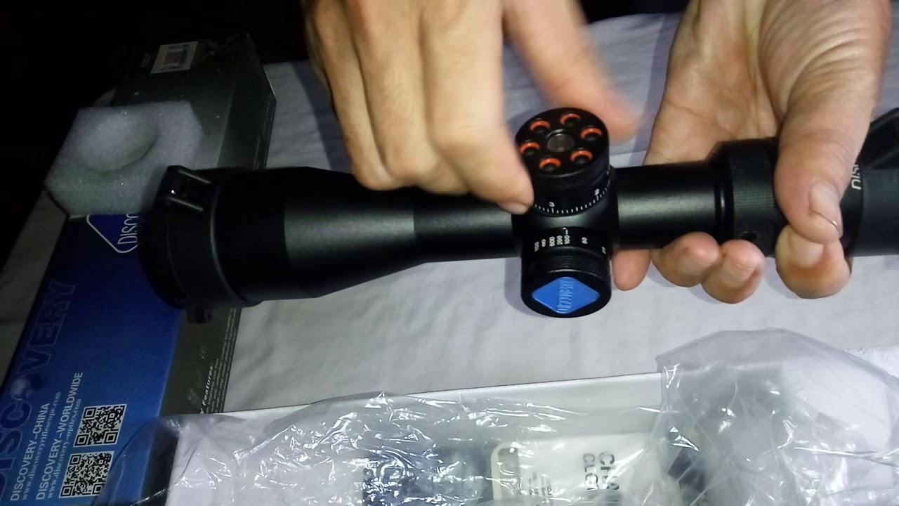 Tes teleskop modifikai reticle videourl