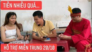 Khương Dừa hoa mắt khi tổng kết số tiền MTQ ủng hộ miền Trung, cập nhật đến 18:00 ngày 20/10/2020
