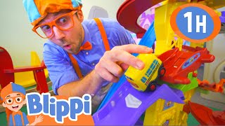 Blippi Visits Fidgets Indoor Play Place And More Educational Fun For Kids
