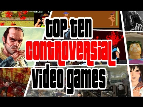 10 Most Controversial Video Games
