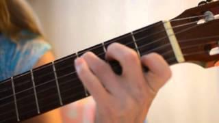 Забавная детская песенка про овечку  мостик и хвостик  - простые аккорды