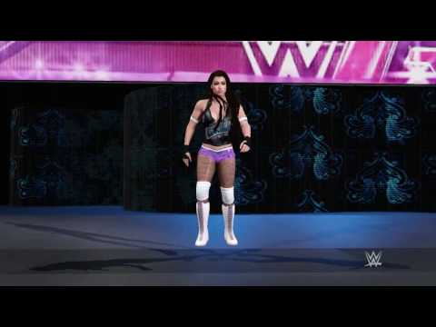 WWE 2K17: Exhibition : Kyung Ahn vs Rachel Reigns & Morgan Rivera