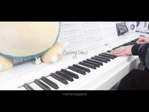 BTS 방탄소년단 | Spring Day 봄날 | piano cover
