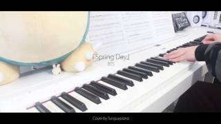 Video BTS 방탄소년단 - Spring Day 봄날 - piano cover download MP3, 3GP, MP4, WEBM, AVI, FLV April 2018