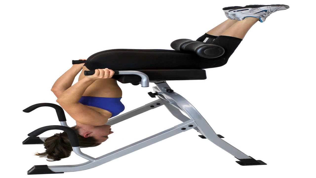Spinal Decompression Chair Wicker Replacement Cushions Outdoor Teeter Hang Ups Dex Ii And Extension Machine Youtube
