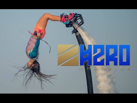 Flyboard World Champion Gemma Weston