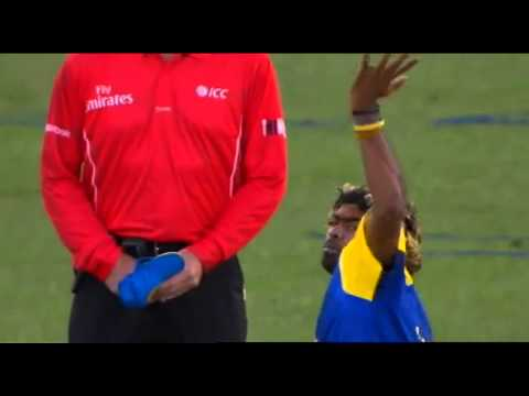 Lasith Malinga Bowling Highlights