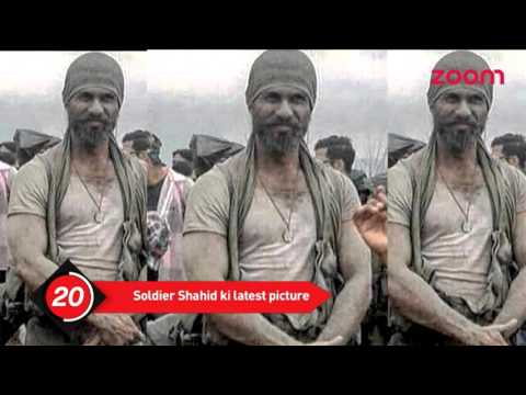 Shahid Kapoor's latest picture from the sets of 'Rangoon' | Bollywood News