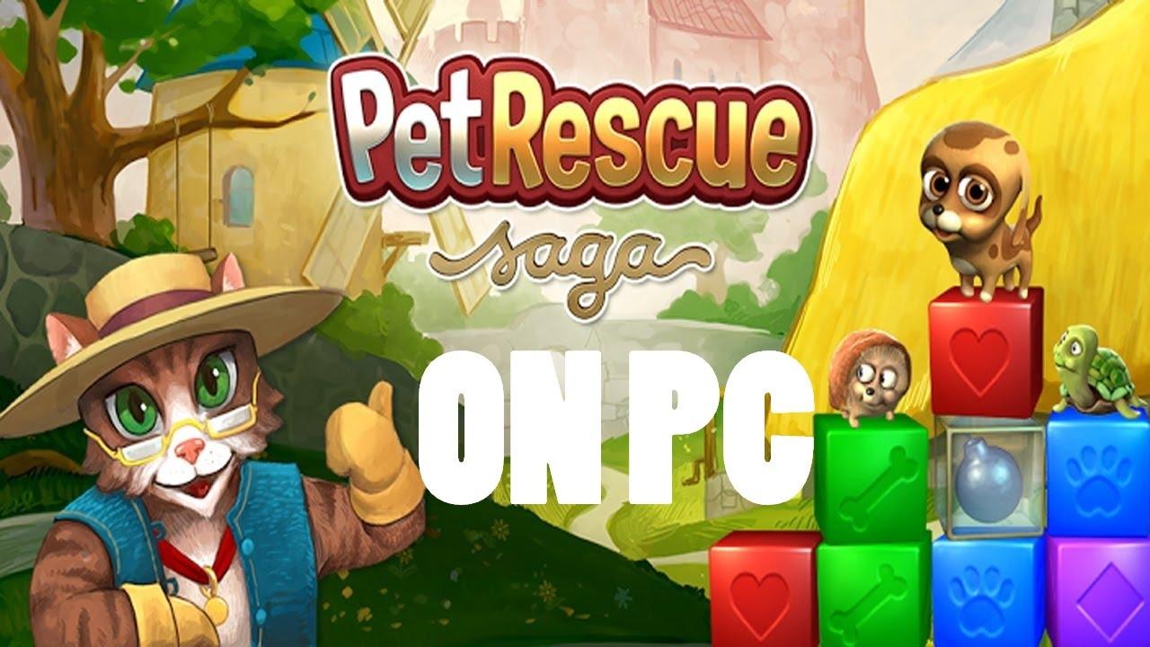 gioco pet rescue saga per pc