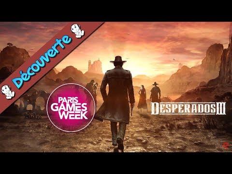Gameplay Desperados 3  - PGW2019