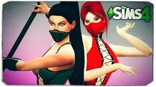 ДЖЕЙД И СКАРЛЕТ В THE SIMS 4 (JADE AND SCARLET MORTAL KOMBAT)