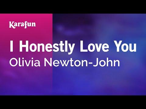 Karaoke I Honestly Love You - Olivia Newton-John *