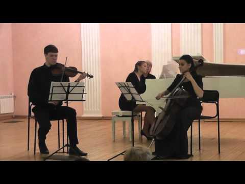 Йозеф Гайдн - Фортепианное трио ми-бемоль мажор