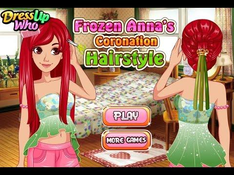 Холодное Сердце Анна Прическа (Frozen Annas Coronation Hairstyle)