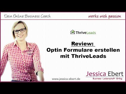 Thrive Leads Review – List Building WordPress Plugin – Schöne Newsletter Formulare erstellen