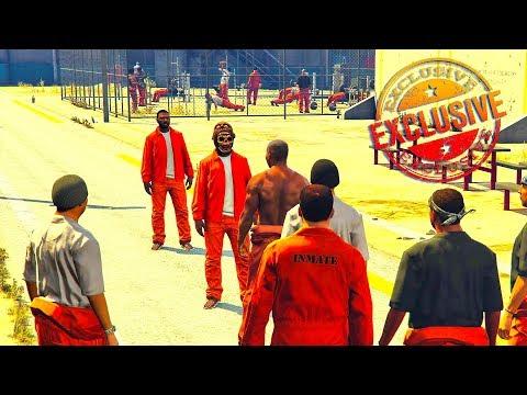 BLOODS VS CRIPS PRISON LIFE (GTA 5 ONLINE SKIT)