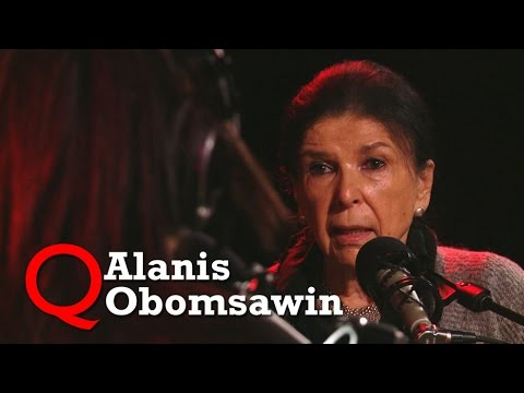 """Alanis Obomsawin brings """"Trick or Treaty"""" to Studio Q"""