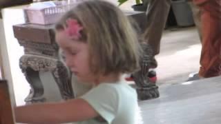 video clip - child being blessed by buddhist monk on big buddha hill - phuket - sidneysealine