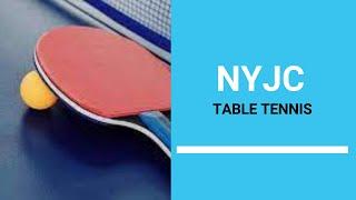 NYJC Table Tennis